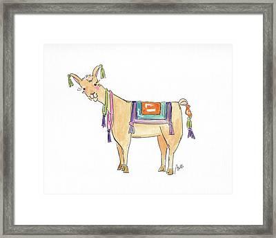 Llama Two Framed Print
