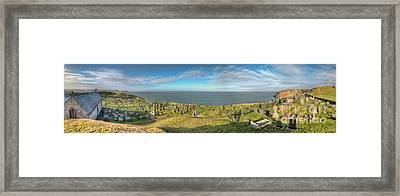 Llanbadrig Church Panorama Framed Print