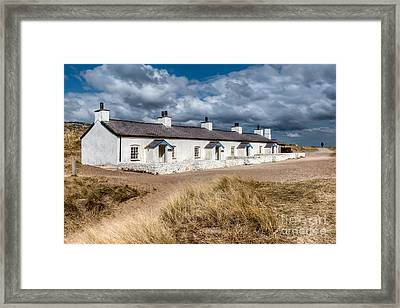 Llanddwyn Cottages Framed Print