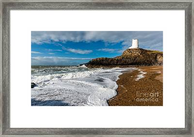 Llanddwyn Island Lighthouse Framed Print