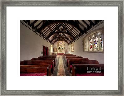 Llandysilio Traean Framed Print by Adrian Evans