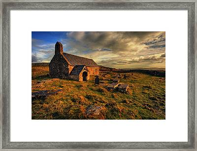 Llangelynnin Church Conwy Framed Print by Mal Bray