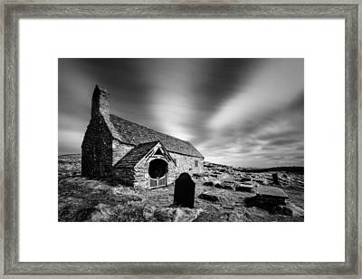 Llangelynnin Church Framed Print by Dave Bowman
