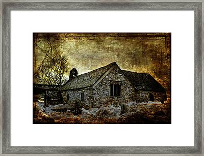 Llangelynnin Church Framed Print by Mal Bray