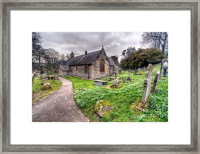 Llantysilio Church Framed Print by Adrian Evans