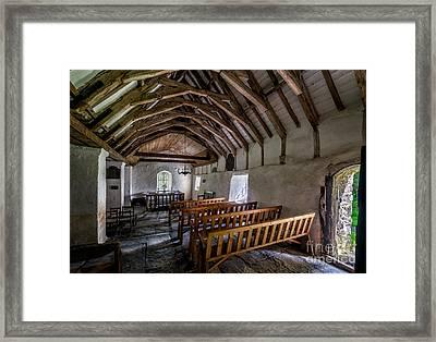 Llewelyns Church Framed Print by Adrian Evans