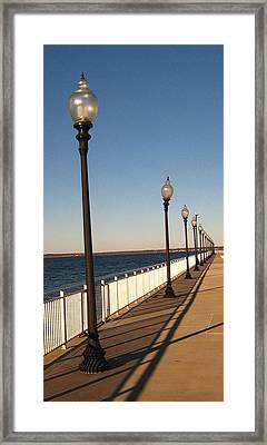 Light Lines Framed Print by Bruce Carpenter