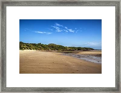 Lligwy Beach Framed Print by Georgia Fowler