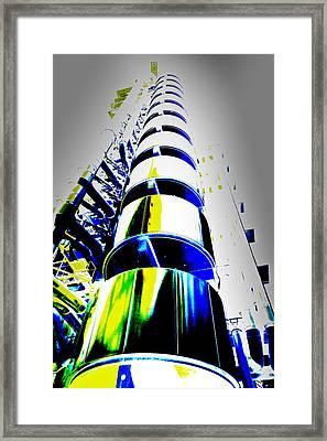 Lloyd's Building London Art Framed Print by David Pyatt
