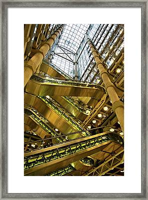 Lloyds Of London Interior Framed Print by Mark Williamson