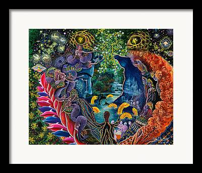 Amazonian Art Framed Prints