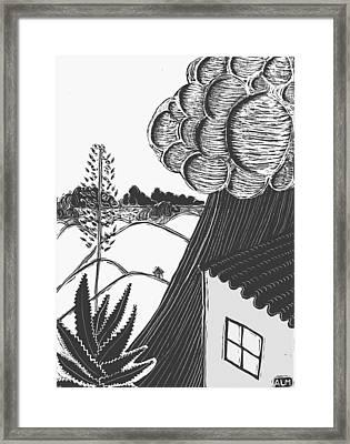 Lluvia Framed Print by Aurora Levins Morales
