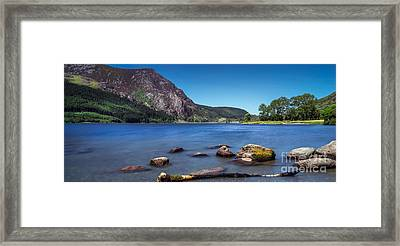 Llyn Cwellyn Framed Print by Adrian Evans