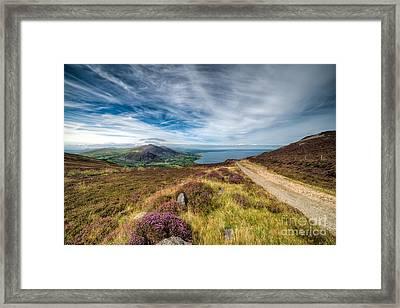 Llyn Peninsula Framed Print by Adrian Evans