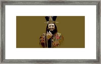 Lo Pan Framed Print by Kurt Ramschissel