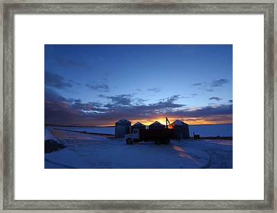 Load Out Framed Print by Jeff Nelson