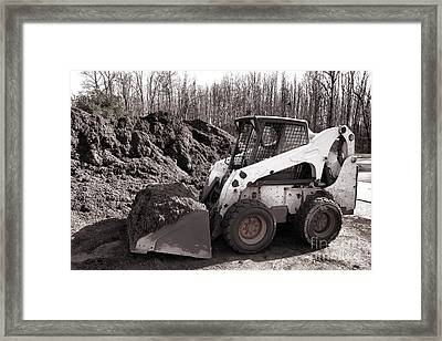 Loader  Framed Print by Olivier Le Queinec