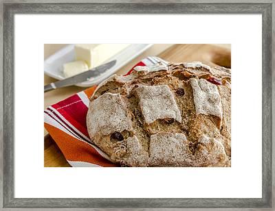 Loaf Love Framed Print by Teri Virbickis