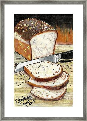 Loaf Of Bread Framed Print