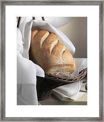 Loaf Of Bread Framed Print by Krasimir Tolev