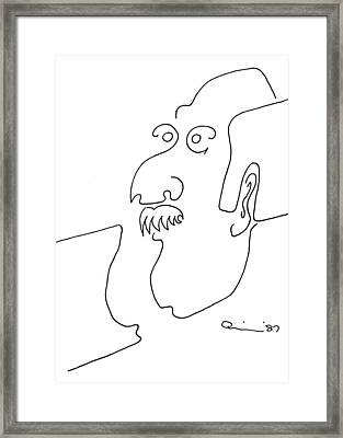 Loafer Framed Print