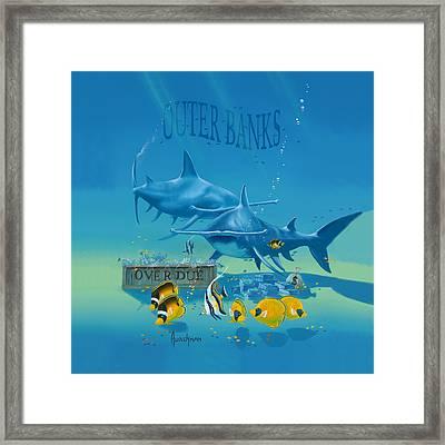 Loan Sharks Framed Print