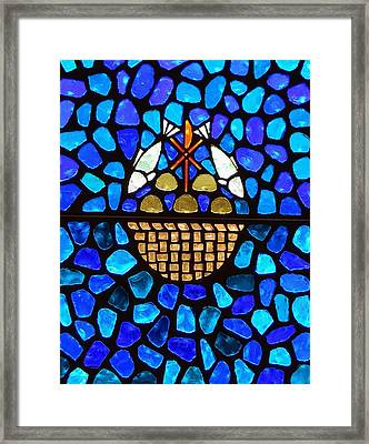 Loaves And Fish Framed Print by Warren Thompson