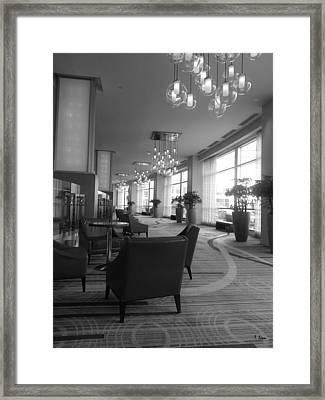 Lobby Framed Print by Thomas Leon