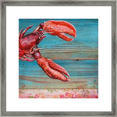 Lobster Blissque Framed Print by Danny Phillips