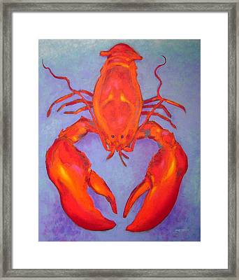 Lobster Framed Print by John  Nolan