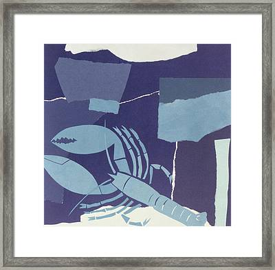 Lobster  Framed Print by John Wallington