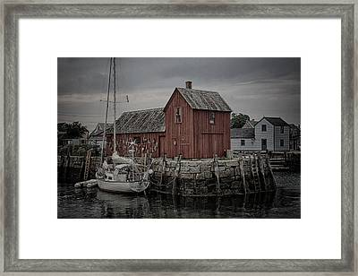 Lobster Shack - Rockport Framed Print