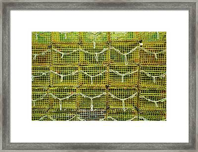 Lobster Traps, Rockport, Essex County Framed Print by Panoramic Images