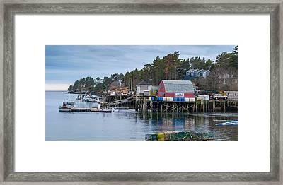 Lobstering Framed Print by Guy Whiteley