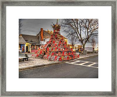 Lobstermans Holiday Framed Print