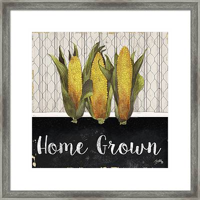 Local Grown II Framed Print by Elizabeth Medley