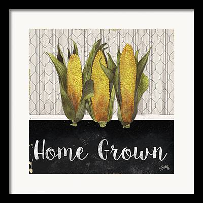 Grow Local Framed Prints