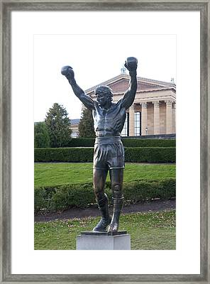 Local Hero - Rocky Framed Print by Bill Cannon