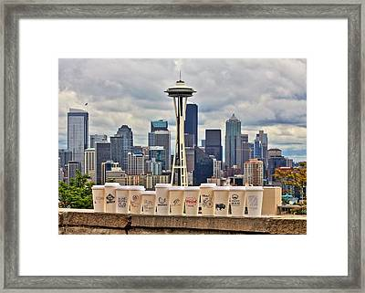Local Joes Framed Print by Benjamin Yeager