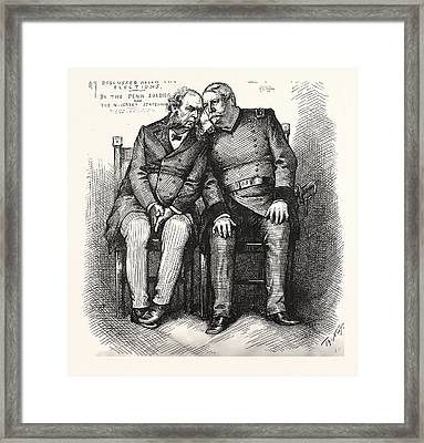 Local Question. Who Is Tariff, And Why Is He For Revenue Framed Print by American School