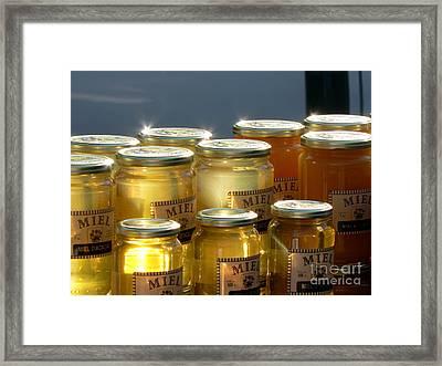 French Honey  Framed Print by France  Art
