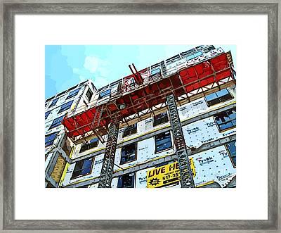 Location Location Location Framed Print
