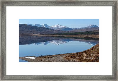 Loch A' Croisg - Scotland Framed Print by Phil Banks