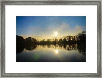 Loch Alsh At Sunrise - Ambler Pa Framed Print