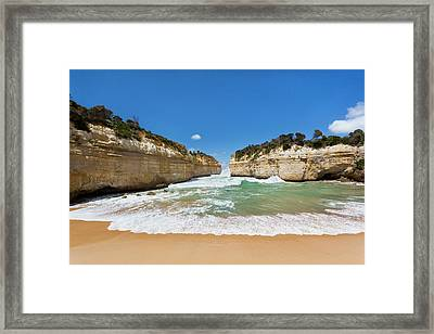 Loch Ard Gorge, Great Ocean Road Framed Print