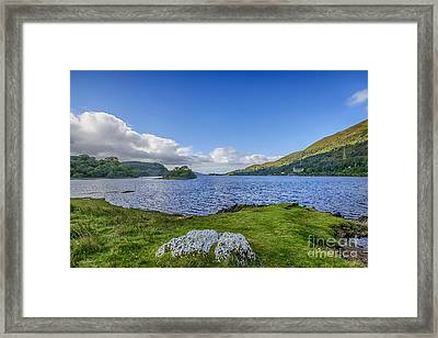 Loch Awe View Framed Print by Chris Thaxter