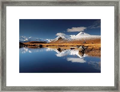 Loch Ba Framed Print by Grant Glendinning