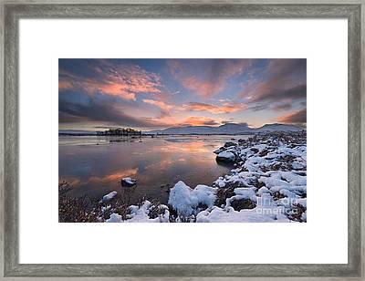 Loch Ba Framed Print by Rod McLean