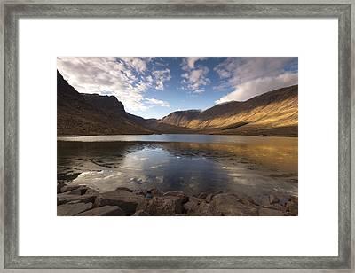 Loch Coire Nan Arr Framed Print by Karl Normington