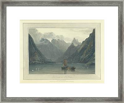 Loch Coruisq Framed Print
